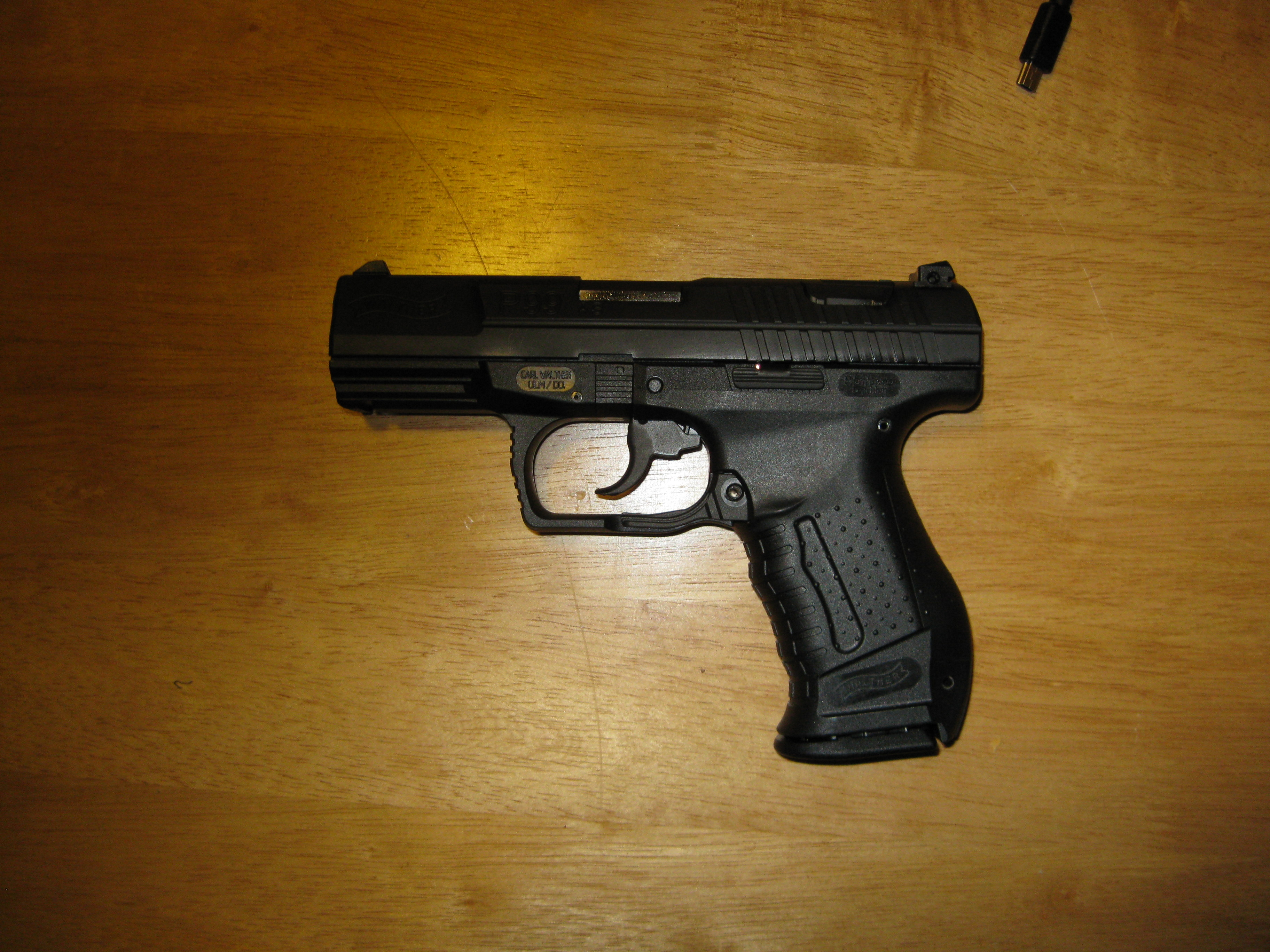 quick review walther p99 the black campbell