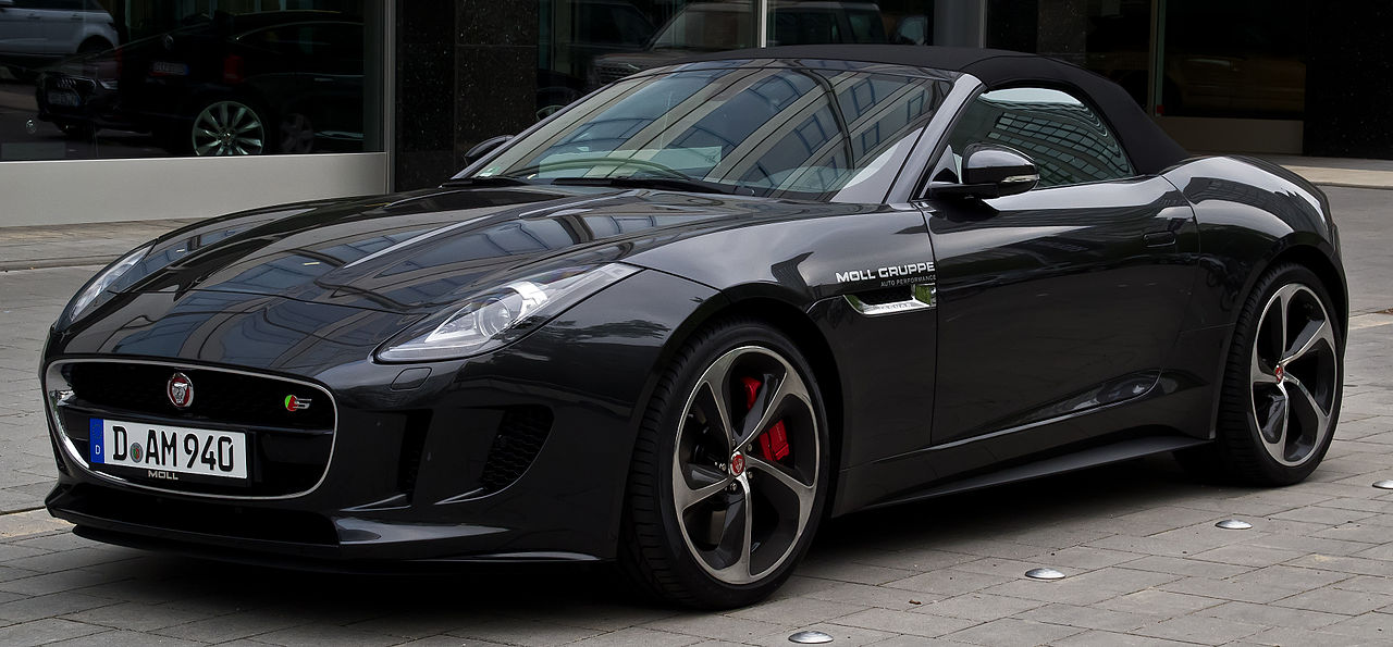 New Car For Jb 007 Jaguar F Type The Black Campbell